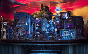 My 45 Pics Of A Miniature City From 'Salem's Lot' I Built As A Tribute To Stephen King