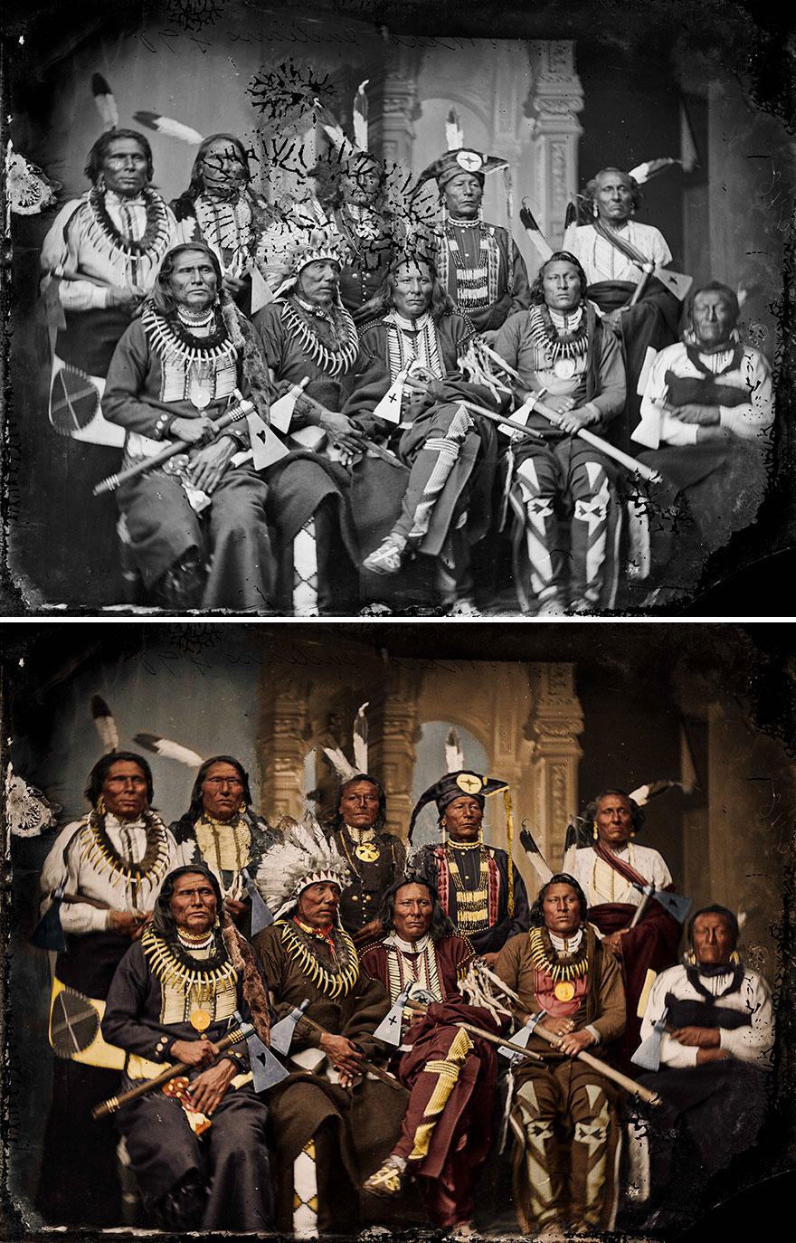 Ponca Indians, 1865