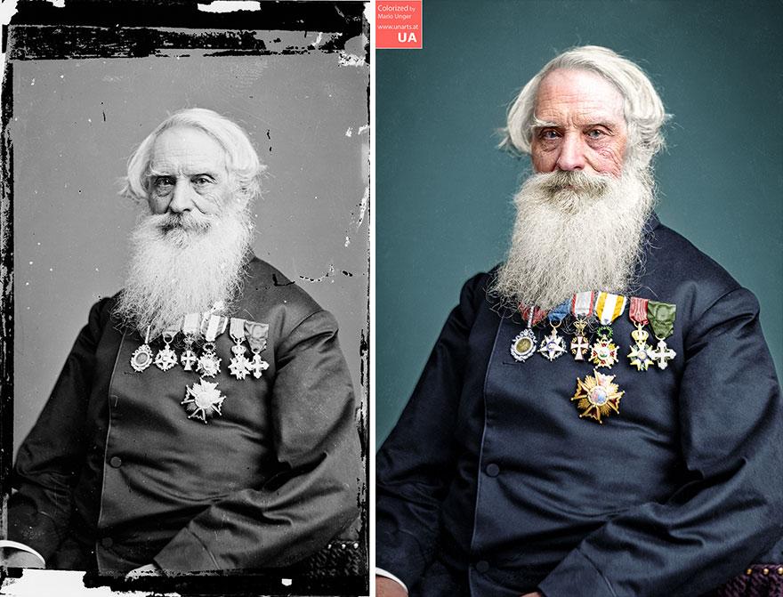 Samuel Morse, 1865