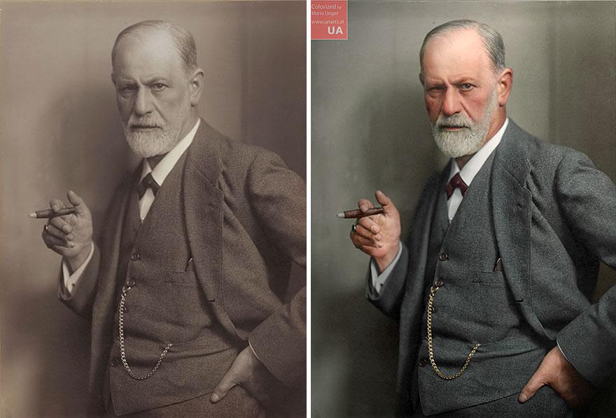 Sigmund Freud By Max Halberstadt,1920