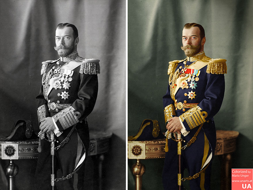 Czar Nikolaus II