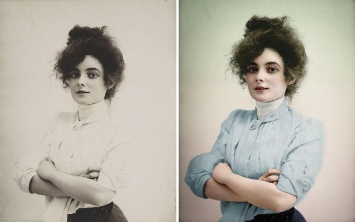 Actress Marie Doro, 1902