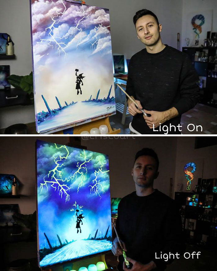 Paintings-Light-On-Off-Criscoart-Cristoforo-Scorpiniti