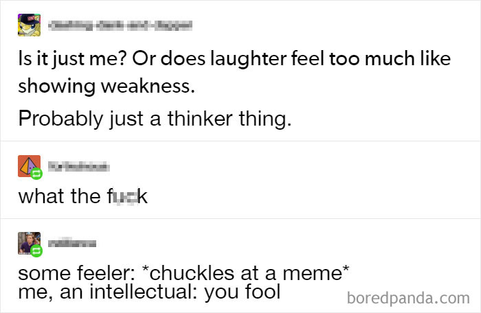 Only Us Thinkers Would Understand