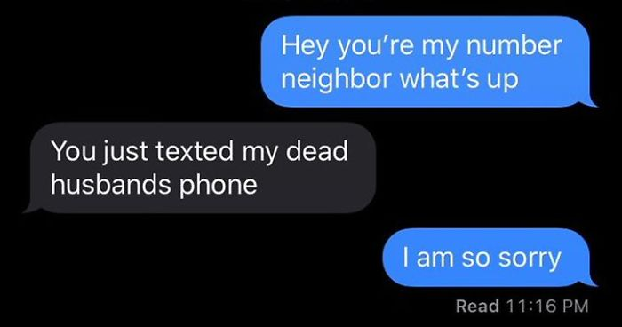 30 Of The Best Answers People Received After Texting Their Number Neighbors