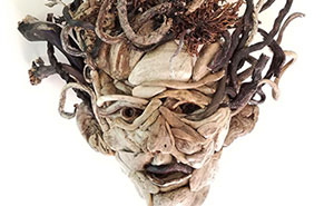 I Decided To Do Something That Would Get Me Away From The Computer, So I Started Making Driftwood Portraits (8 Pics)