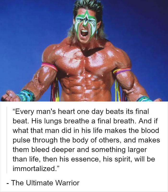 """...then His Essence, His Spirit, Will Be Immortalized"""