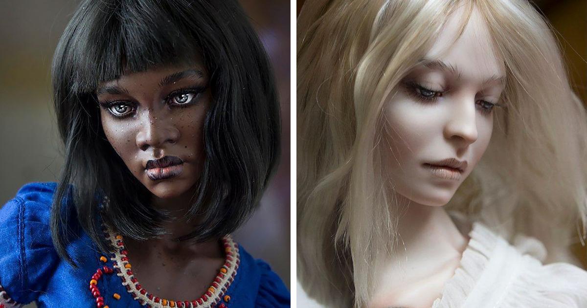 Russian Couple Creates Stunningly Realistic Dolls (70 Pics)