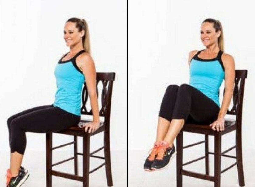 Easy Exercises for a Flat Belly That You Can Do Right in a Chair
