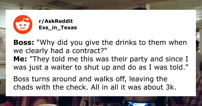 Two Pretentious Guys Think They're Better Than The Waiter, Boss Makes Them Pay The 3k Dollar Bill