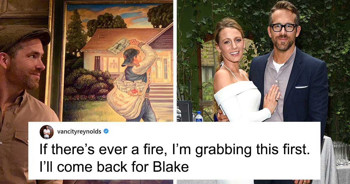 Ryan Reynolds Trolls Wife Blake Lively After She Gives Him This Amazing Present