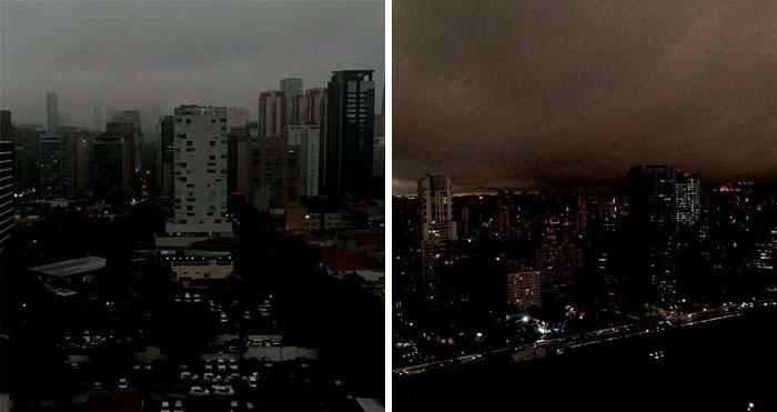 People Share Apocalyptic Photos Of Sao Paulo Which Went Pitch Black During Daytime From Amazon Fires