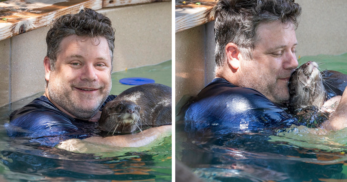 Photos Of Sean Astin Cuddling With An Otter Go Viral, Inspire Twitter To Celebrate His Career