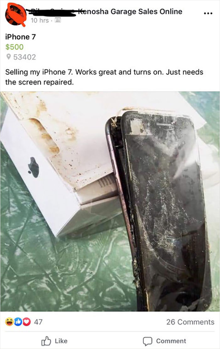 Just Needs A New Screen!
