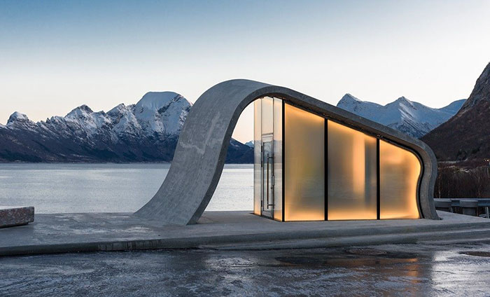 Norway Creates Possibly The Most Beautiful Public Toilet In The World