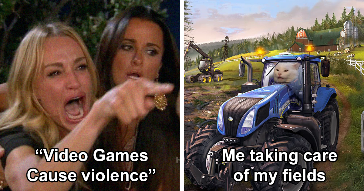 82 Dank Memes In Response To Trump Blaming Video Games For Causing The Recent Shootings