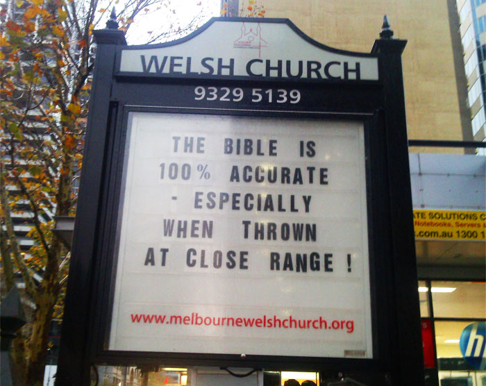 This 'Radically Inclusive' Church Is Making People Laugh With Its Hilariously Creative Signs (30 Pics)