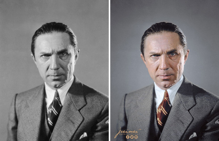Bela Lugosi - A Hungarian-American Actor, Famous For Portraying Count Dracula In The Original 1931 Film