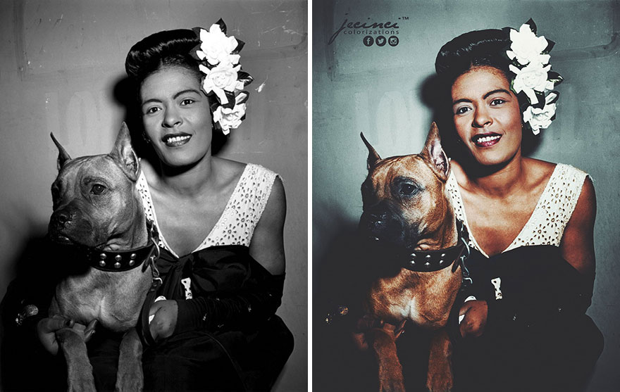 Billie Holiday And Mister, February 1947