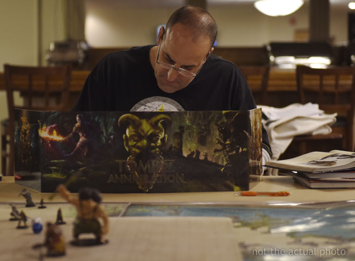 "Dungeon Master Shares How He Helped His Friend's Daughter Sleep After She Called Him ""Dumb Dumb"""