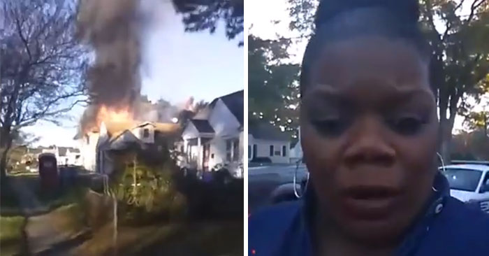 Hilarious Wannabe-Reporter Sets Out To 'Investigate' A House Fire, Actually Solves An Arson Case On FB Live