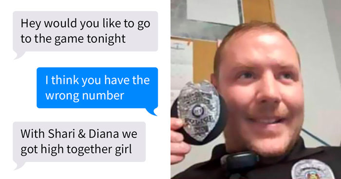 """We Got High Together:"" Someone Sends Message To A Really Wrong Number – An On Duty Cop"