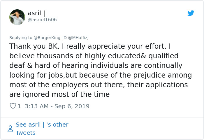 Burger King's Brutal Response To Someone Questioning Their
