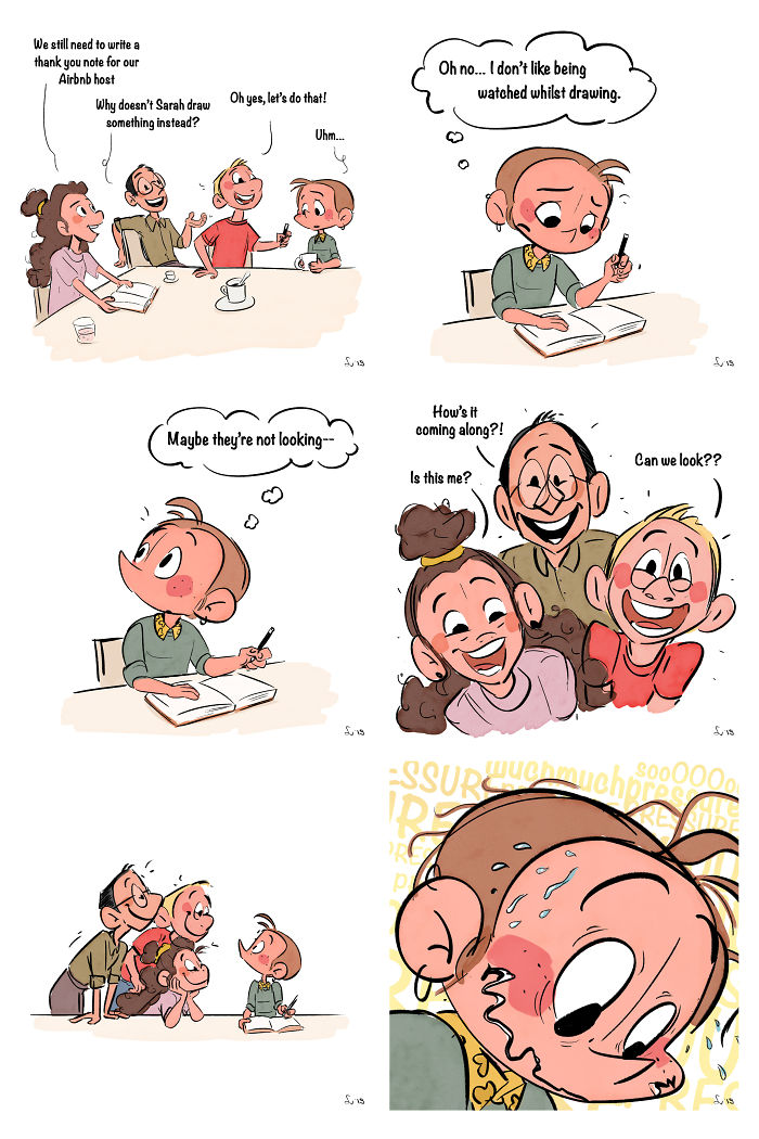 My Little Comics About Daily Life