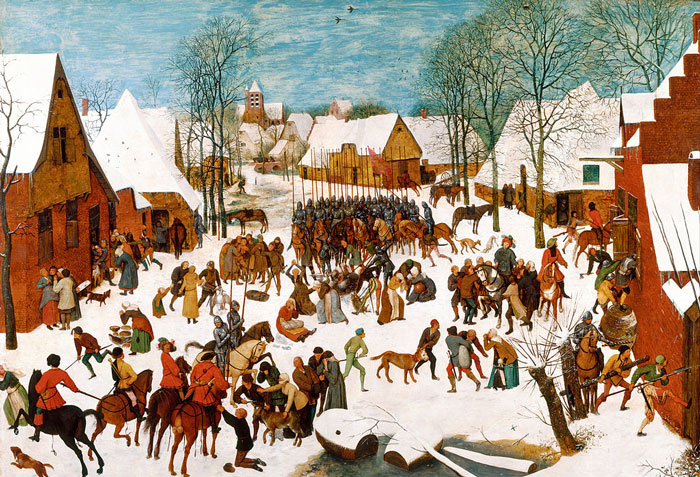 If The Paintings Have Tons Of Little People In Them But Otherwise Seem Normal, It's Bruegel