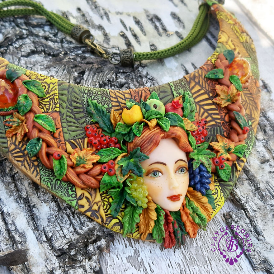 """""""Autumn On The Way"""" Jewellery Collection From Polymer Clay!"""