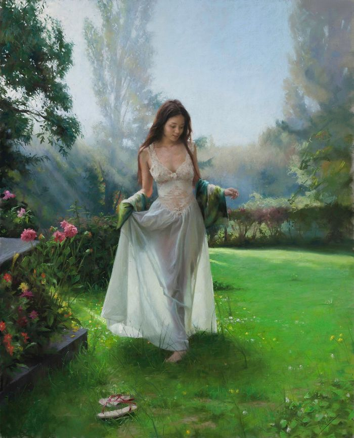 These Paintings Show Feminine Beauty In An Impressive And Poetic Way