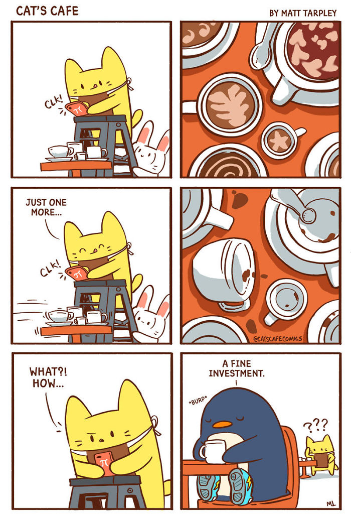 My 122 Wholesome Cat S Cafe Comics That Will Make Your Day New Pics Success Life Lounge