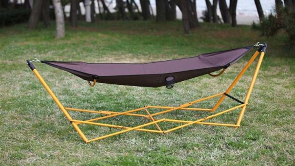 4 Genius DIY Portable Hammock Stand Plans for Camping
