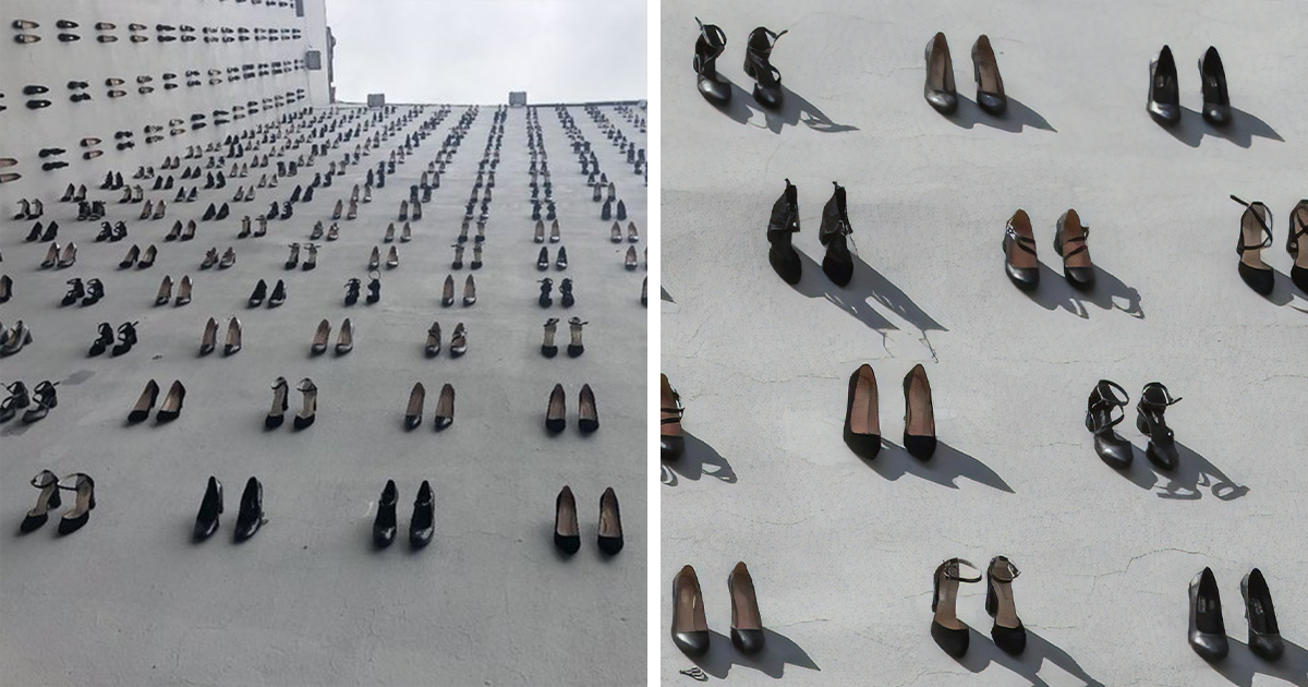 There's A Haunting Memorial In Turkey To Commemorate 440 Women Killed By Their Own Husbands Last Year