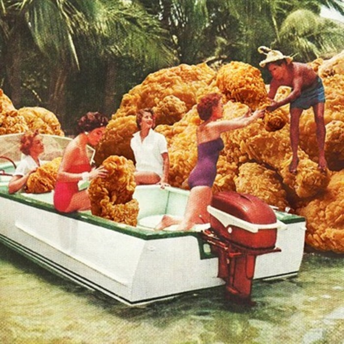Fried Chicken Drive-Thru