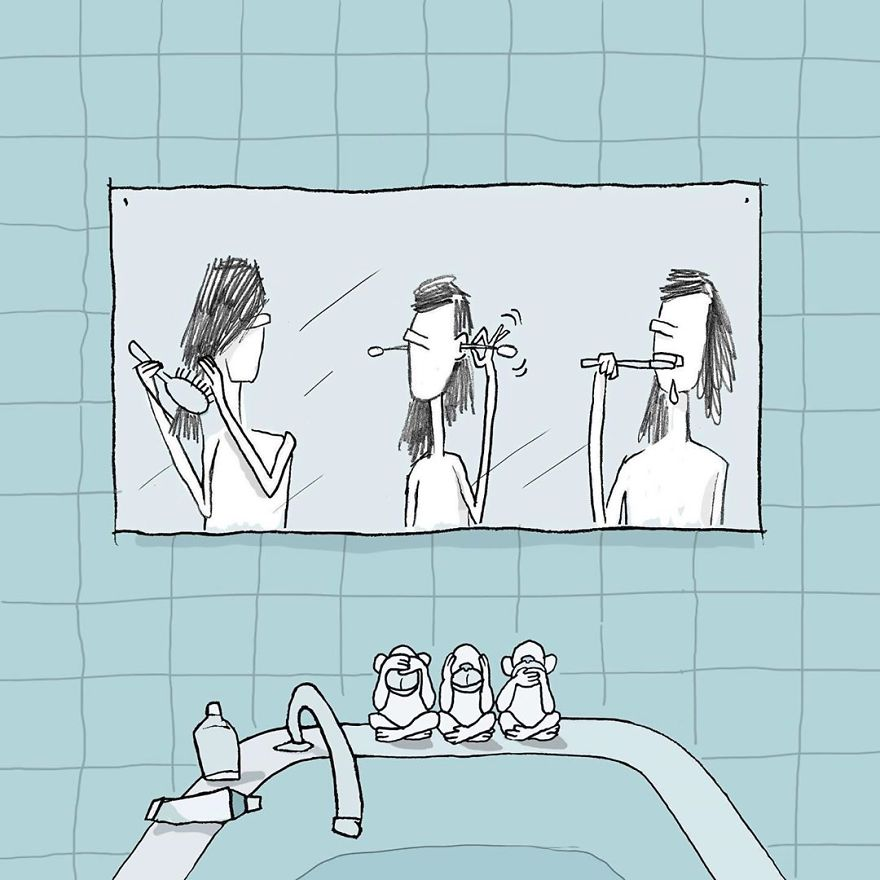 Artist Captures Moments Of Relationships Brightly In Illustrations