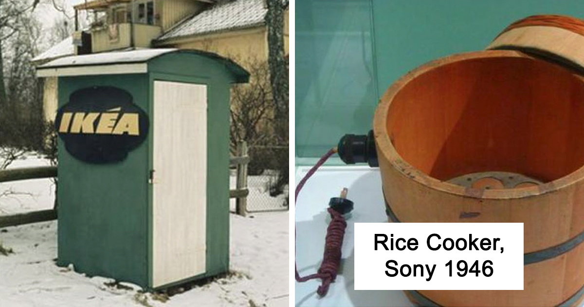 20 Very First Products From The World's Most Famous Brands