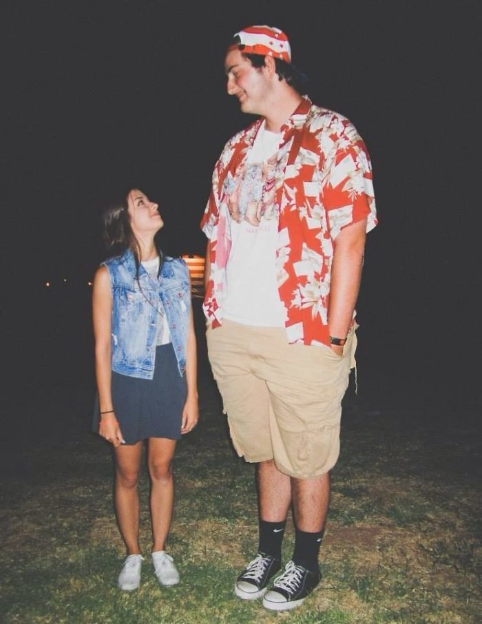 "I'm 6'8"" And She's 4'10"""