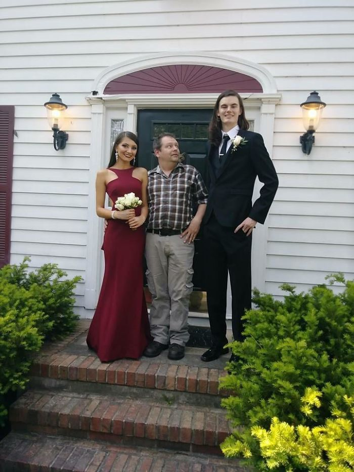 Prom Pictures With GF And Her Dad