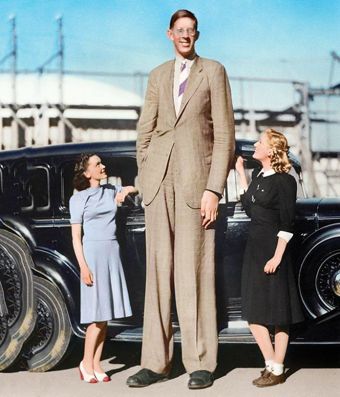 The Towering American Who Measured A Staggering 2,72 M (8 Ft 11,1 In) Tall When Last Measured On 27 June 1940, Becoming The Tallest Man In The World