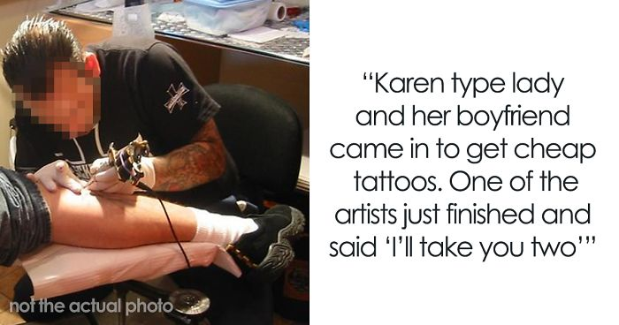 Rude Jerks Go Nuts After The Artist Trolls Them With A Tiny But Costly Tattoo