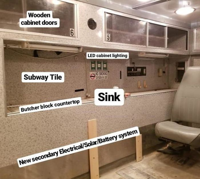 Man Converts An Old Ambulance Into His Dream Home