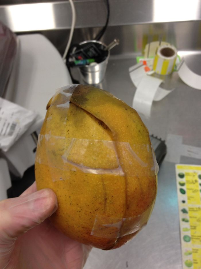"""A Customer Wanted To Return Some Produce Because """"It Was Too Ripe."""" I Asked Him If He Had Already Tried Eating It Anyway And He Said """"Does It Look Like I Touched It?"""""""