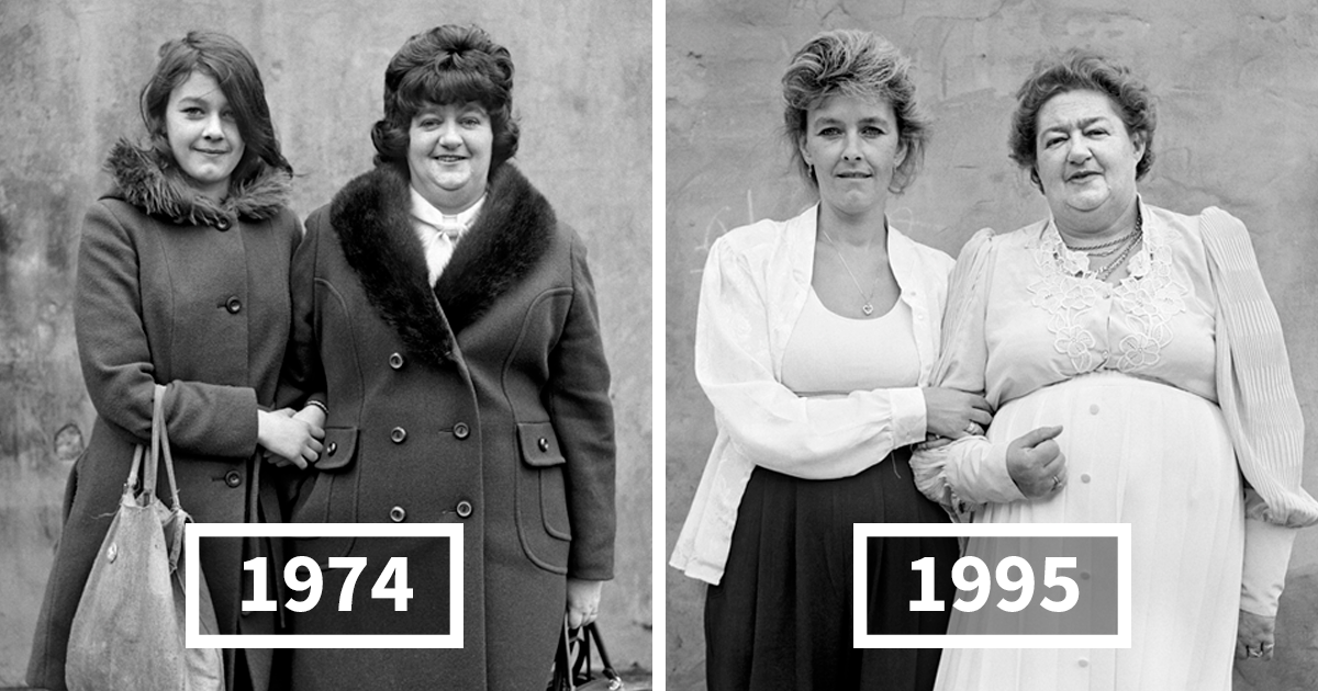 17 Before And After Pics That Show How People Changed In 20 Or More Years By Daniel Meadows