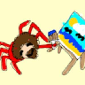 Bob Ross Crab