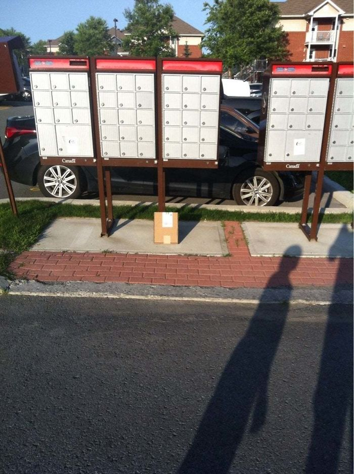 Over The Past Six Months, Canada Post Has Lost Three Packages For Me, All Of Which It Claims To Have Delivered. I Think I Discovered The Reason Why Today