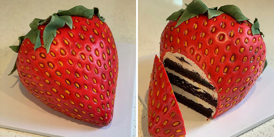 Artist Creates Hyper-Realistic Cakes Inspired By Objects And Fruits