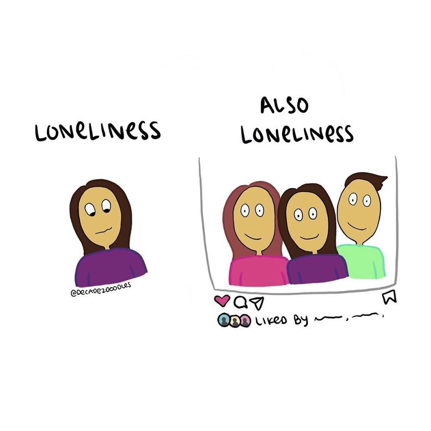 """Friendly Reminder That Loneliness Or Struggle Doesn't Always """"Look Like"""" What You'd Think"""