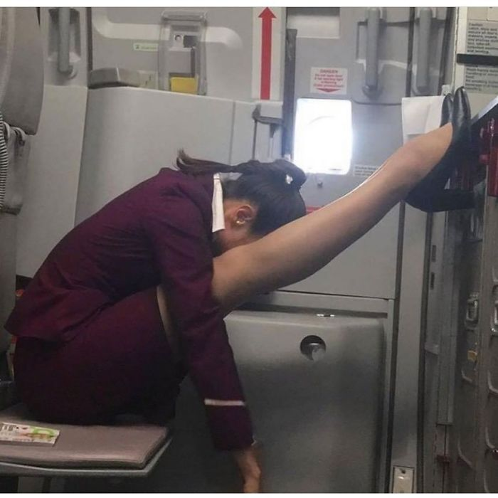 Flight Attendants Need To Rest Too