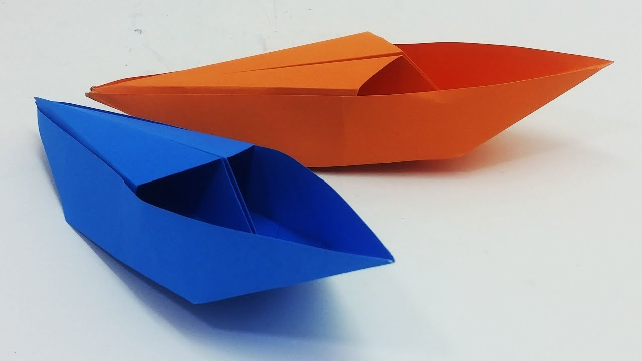 Paper Boat Making Tutorial That Floats | Origami Boat New Design For Kids